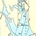 Карта Рыбинского водохранилища