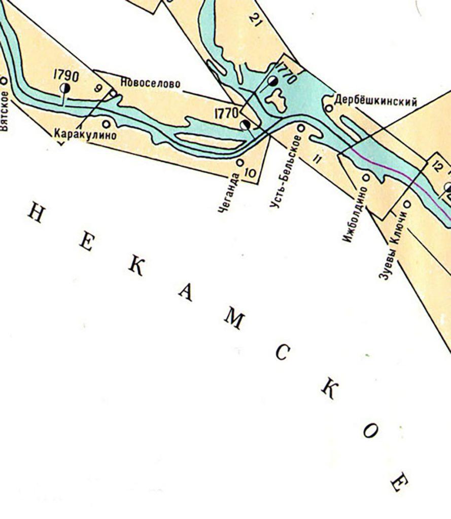 Река Кама, Нижнекамское водохранилище