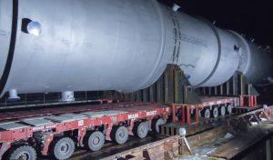 перевозка негабаритных грузов на барже
